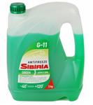Антифриз SIBIRIA ОЖ-40 G11 готовый -40C зеленый