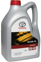 Масло TOYOTA Engine Oil 5W40 моторное