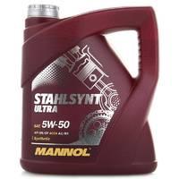Масло MANNOL Stahlsynt Ultra 5W50 моторное синтетическое
