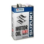 Масло SUZUKI MOTOR OIL 0W20 моторное синтетическое