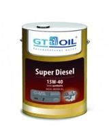 Масло GT OIL Super Diesel 15W-40 моторное полусинтетическое
