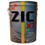 Масло ZIC X7 Diesel 10W40 моторное синтетическое