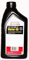 Масло TOYOTA MOTOR OIL 5W20 моторное синтетическое