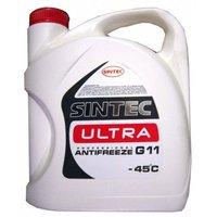 Антифриз Sintec Ultra G11 готовый -40C красный