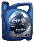 Масло ELF EVOLUTION 900 5W50 моторное синтетическое