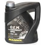 Масло MANNOL 7701 O.E.M. for Chevrolet Opel 5W30 моторное синтетическое