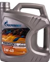 Масло Gazpromneft Premium L 5W40 моторное полусинтетическое