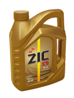 Масло ZIC X9 5W40 моторное синтетическое