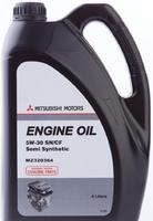 Масло MITSUBISHI Engine Oil 5W30 моторное полусинтетическое