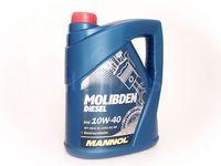 Масло MANNOL Molibden Diesel 10W40 моторное полусинтетическое