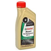 Жидкость тормозная CASTROL React Performance DOT4