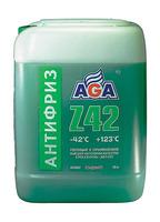Антифриз AGA Z-42 готовый -42C зеленый