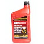 Масло MOTORCRAFT Synthetic Blend 5W20 моторное синтетическое