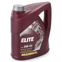 Масло MANNOL Elite 5W40 моторное синтетическое