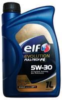 Масло ELF EVOLUTION FULLTECH FE 5W30 моторное синтетическое
