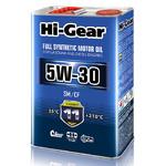 Масло HI-Gear 5W30 SM/CF моторное синтетическое