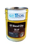 Масло GT OIL Diesel City 5W-40 моторное синтетическое