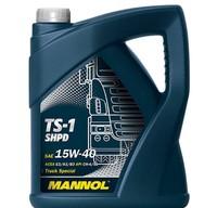Масло MANNOL TS-1 SHPD 15W40 моторное полусинтетическое