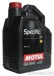 Масло Motul SPECIFIС BMW LL-04 5W40 моторное синтетическое