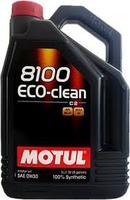 Масло Motul 8100 Eco-clean 0W30 моторное синтетическое