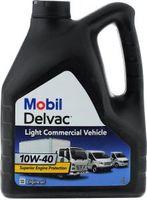 Масло MOBIL Delvac Commercial Vehicle 10W40 моторное полусинтетическое