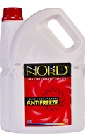 Антифриз NORD High Quality Antifreeze готовый -40C красный