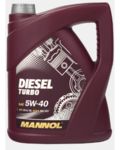 Масло MANNOL Diesel Turbo 5W40 моторное синтетическое