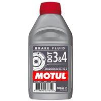 Жидкость тормозная Motul Brake Fluid DOT3&4