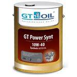 Масло GT OIL Power Synt 10W-40 моторное синтетическое