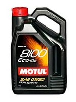 Масло Motul 8100 Eco-Lite SN/CF 0W20 моторное синтетическое