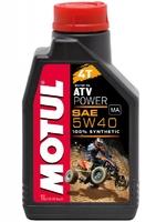 Масло Motul ATV Power синтетическое 5W40 моторное 4T