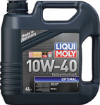 Масло LIQUI MOLY Optimal 10W40 моторное полусинтетическое