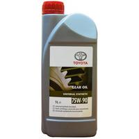 Масло трансмиссионное TOYOTA GEAR OIL GL-4/GL-5 синтетическое 75W90
