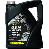 Масло MANNOL 7715 O.E.M. for VW Audi Skoda 5W30 моторное синтетическое